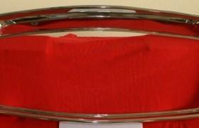 Cornice nuova riprodotta in acciaio inox per Flavia coupè Pininfarina