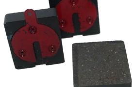 Pasticche freni per Fulvia-Flavia-Flaminia impianto Dunlop