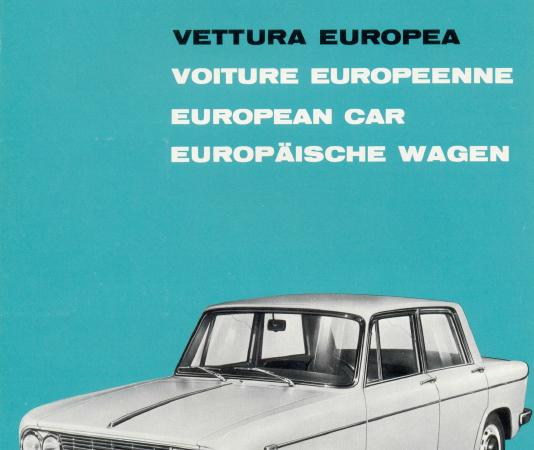 Fulvia berlina 1 – 2 serie (1964-72)