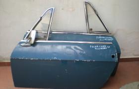 Porte in alluminio DX e SX Lancia Fulvia coupè 1^ serie
